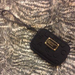 Marc Jacobs black coin purse wristlet